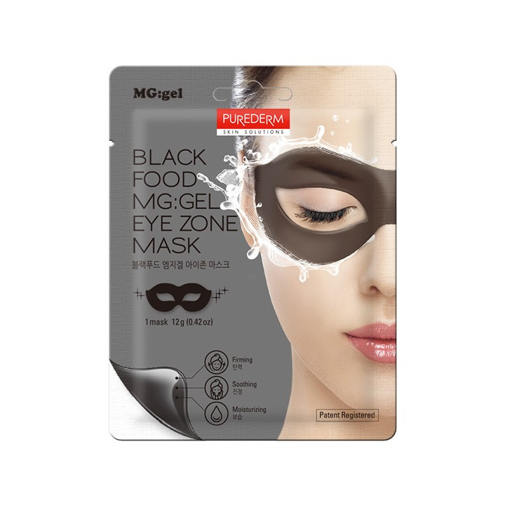 Black Food MG:GEL Eye Zone Mask