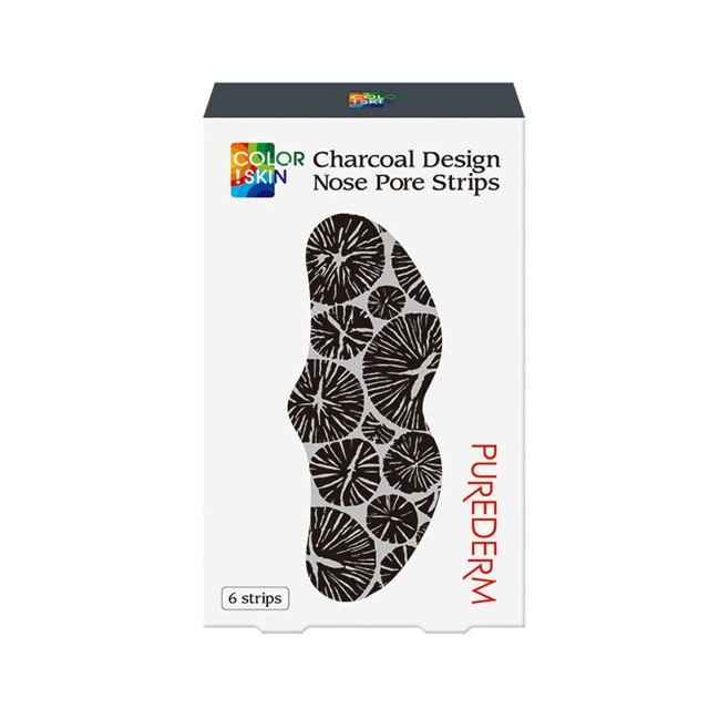Charcoal Design Nose Pore Strips
