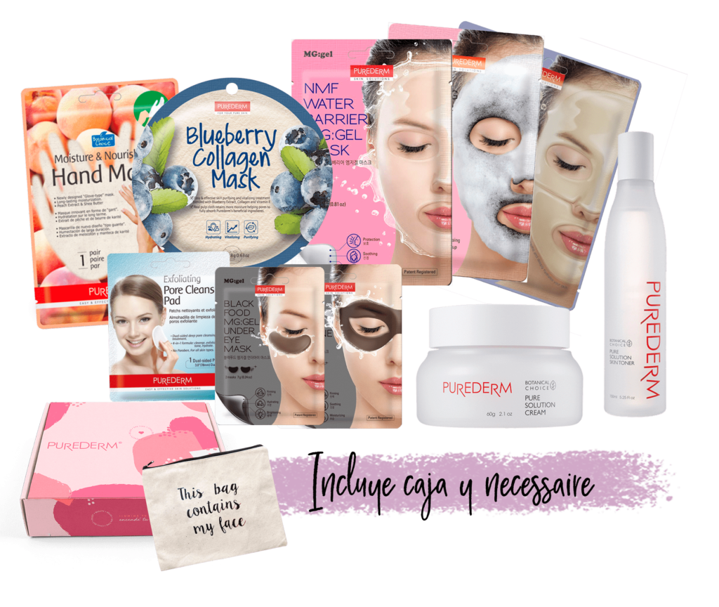 Set Mamá Purederm Beauty Box
