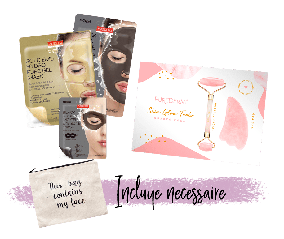 Set Skin Glow Tools & Masks
