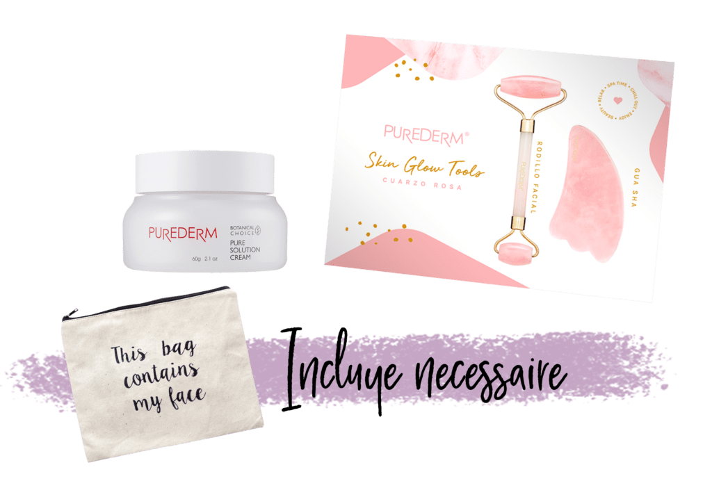 Set Skin Glow Tools & Cream