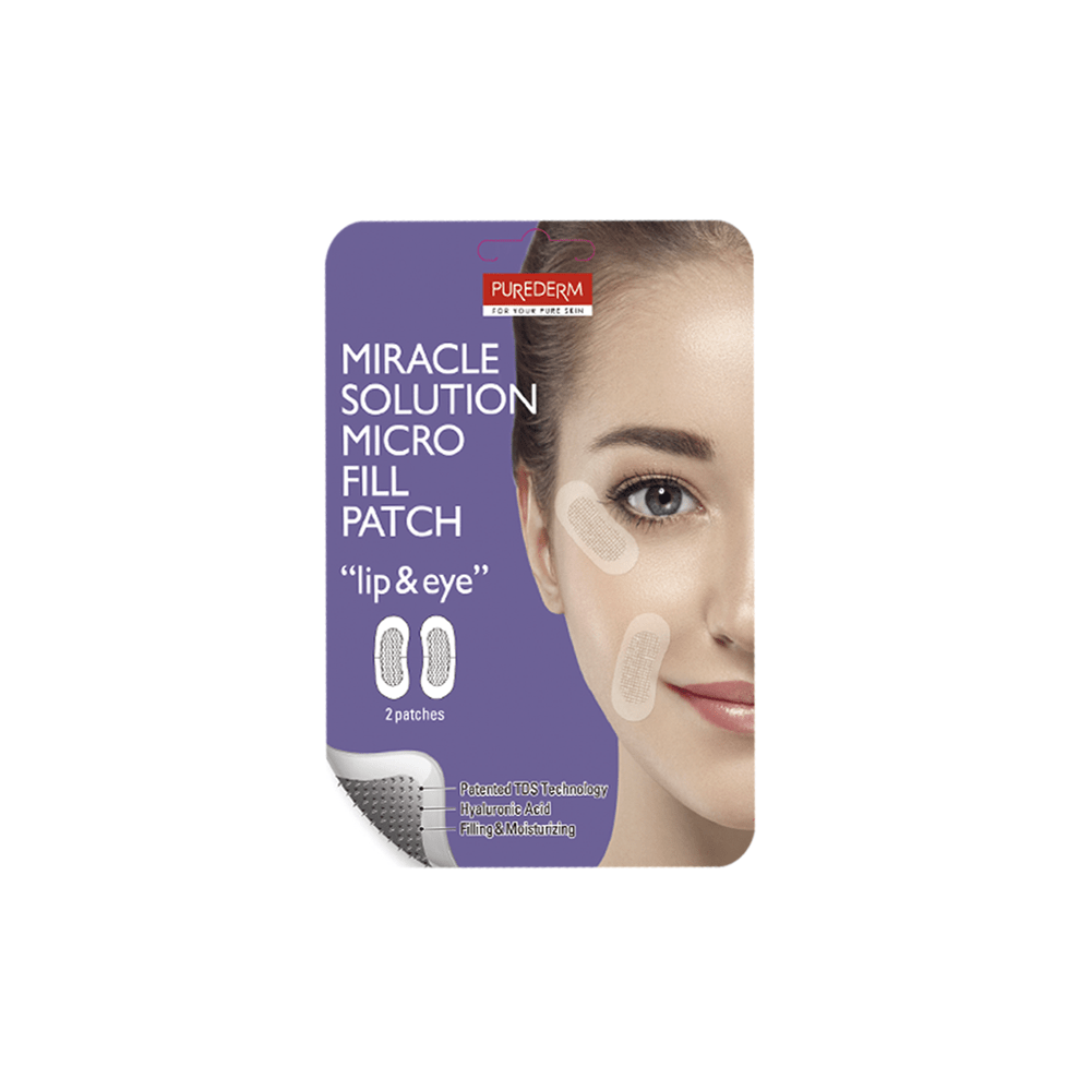 """Miracle Solution Micro Fill Patch """"lip & eye"""""""