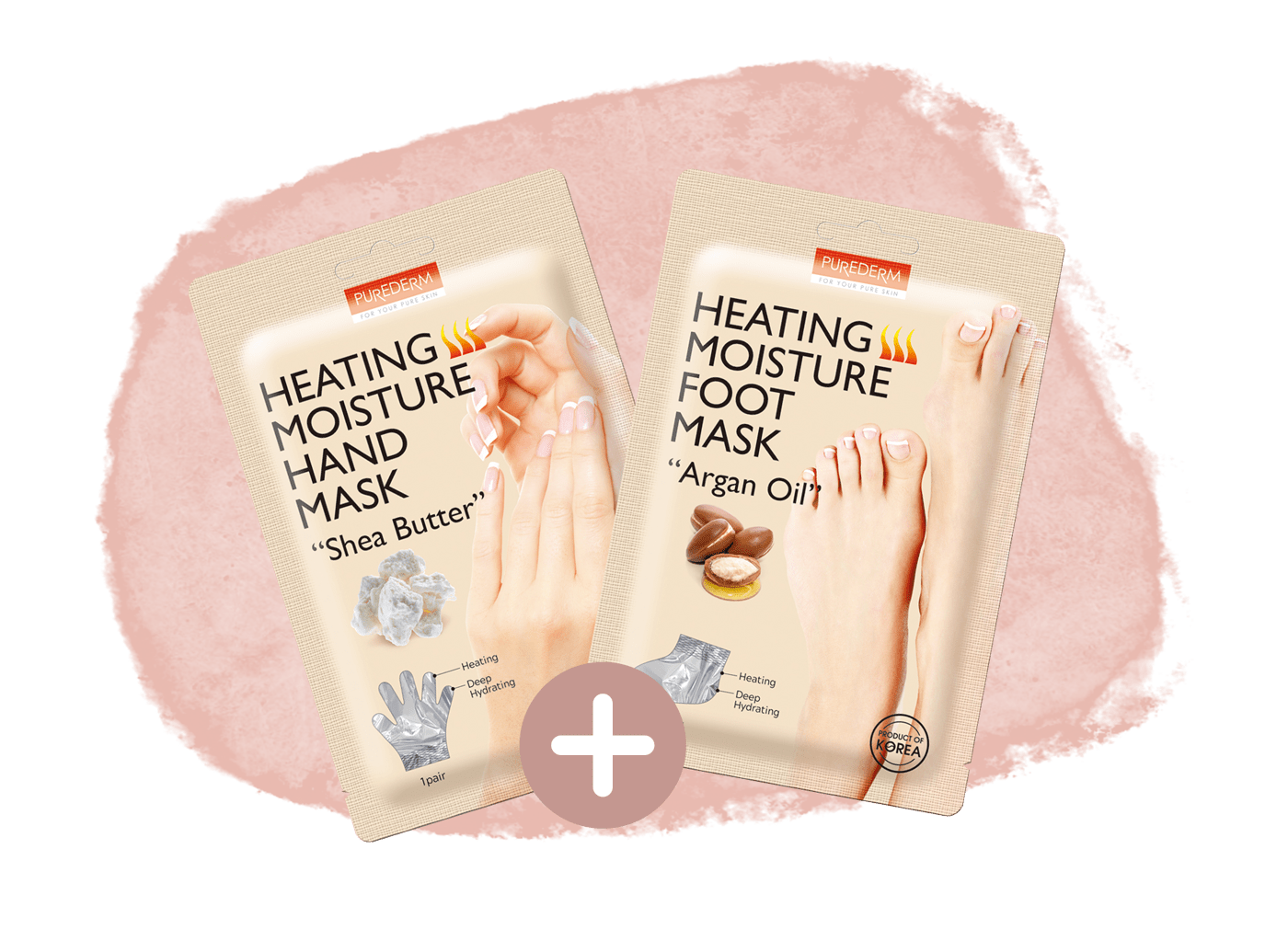 Combo Hand & Foot Heating Mask